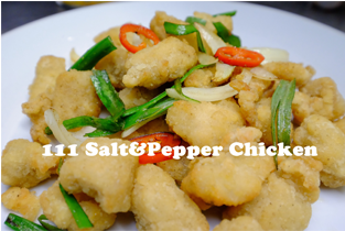 111. Salt & Pepper Chicken